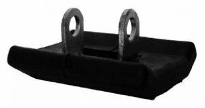 Adjustable Leg Plastic Covered Foot (standard) for ALQR leg Trailer Caravan Part