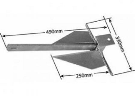 6lb Sand Anchor – Manutec
