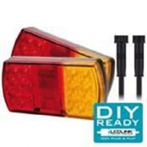 Trailer Lights LED COMBINATION TRAILER LAMP – TWIN PACK AND LOOP KIT Trailer