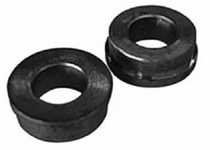 Manutec  Bronze Bushes (2) 19mm bore for galv. pneu. wheel Trailer Caravan Part