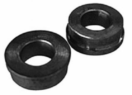 Bronze Bushes (2) 19mm bore for galv. pneu. wheel