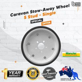 Manutec UHD Trailer Carastow Caravan Stowaway Wheel Storage 5 Stud Suits HT/FORD