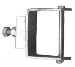 Boat Roller Bracketry Clamp on Stem Adjusters 50mmx25mm Trailer Caravan Part