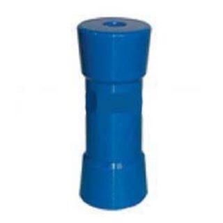 Hard Poly Boat Roller 6 inch Sydney Type Roller, Blue, 17mm plain bore Trailer