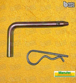 Manutec Draw Bar Pin 12mm x 110mm Trailer Caravan Spare Part