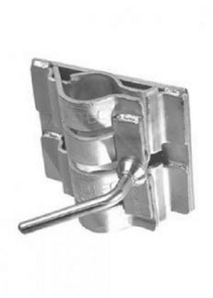 Manutec  Double Clamp to suit Standard 48mm tube Trailer Caravan Spare Part