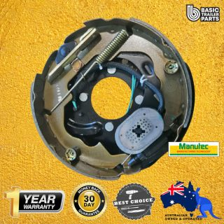 Manutec 10 inch Electric Backing Plate – Right Trailer Caravan Spare Part