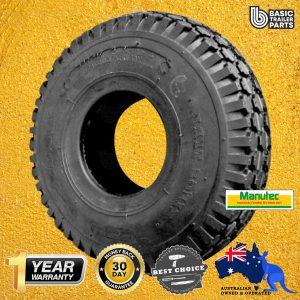 Manutec Jockey Wheel Tyre only for 10 inch Pneumatic Wheel Trailer