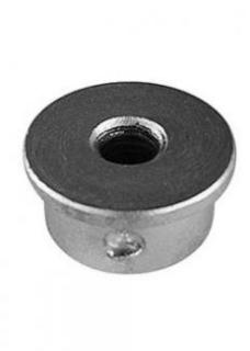 Manutec Adjustable Stand Lifting Nut, 20mm to suit screw of Trailer Caravan Part
