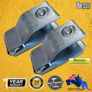 2X Chain W/O Butterfly Clip Bracket to suit 5.3t Butterfly Clip (Non-Rated) Trailer