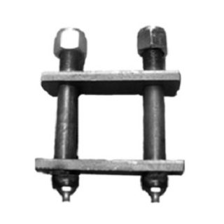 Offroad Shackle Plate Welded c/w Greasable Bolts
