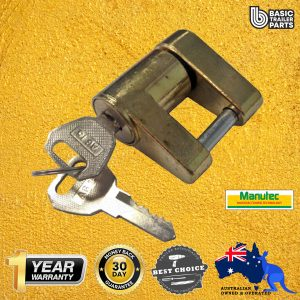 Manutec  Hitch Connecting Pin Coupling Lock Trailer Caravan Spare Part