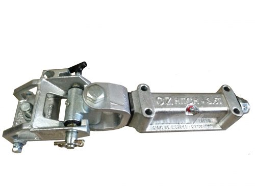 Off Road Coupling Std. Galv 3.5T Max. Load. - 4 Hole