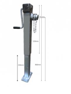Side Wind Adj Stand 1.2m Height – Welded AS-MT