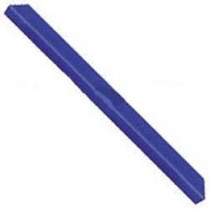 Hard Poly Boat Roller 1500mm Trailer Block, Blue, 17mm plain bore Trailer Part