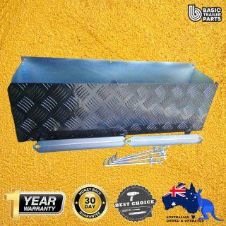 Manutec  Twin Battery Box Set Trailer Caravan Spare Part