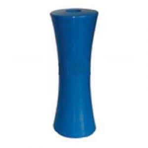 Poly Boat Roller 8 inch Concave – Vee Roller, Blue, 21mm plain bore Trailer Part