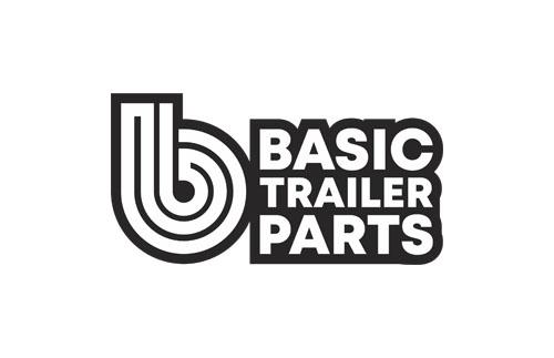 WV Grab LED Handrail Light 12/24V Black – 385mm Trailer Caravan Part