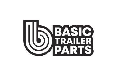 WV Red Reflector 90mm Screw on Angle – BLACK Base Trailer Caravan Part