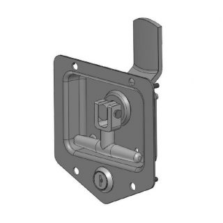 UES DROP T LOCKS – STAINLESS STEEL – LH, STANDARD KEY FS880
