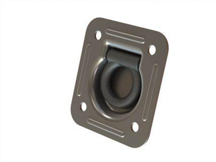UES LASHING RINGS – RECESSED/DrainHole – ZINC PLATED – SWL1850KG – 125 X 115MM