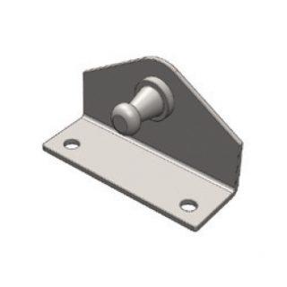 UES GAS STRUT BRACKET S/S – 28mm x 10mm BALL – INTERNAL