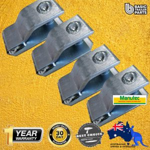 4X Chain W/O Butterfly Clip Bracket to suit 5.3t Butterfly Clip (Non-Rated) Trailer