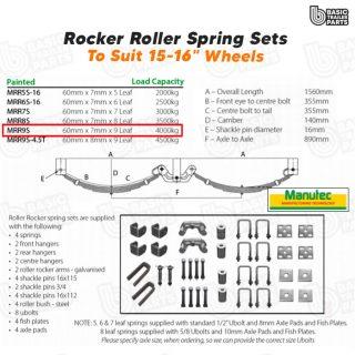 Rocker Roller Spring Sets Roller Rocker Spring Set – 60mmx7mmx9 Leaf. Trailer