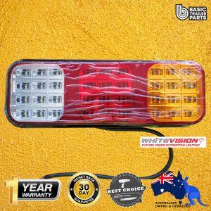 WhiteVision Original LED Combination (Stop/Rear/Sequ/Rev) Lamp Caravan Trailer
